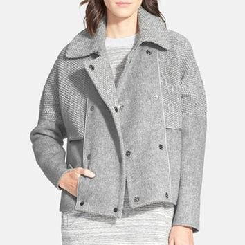 Women's Vince Boucle Wool Coat,