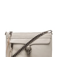 Rebecca Minkoff Mini MAC in Light Gray