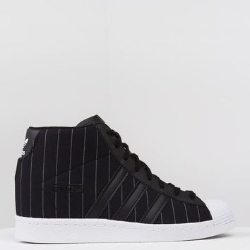 ADIDAS SUPERSTAR UP W BLACK BLACK - What's New