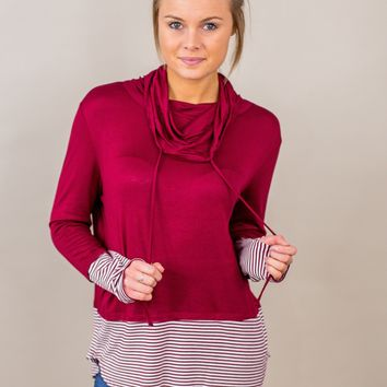 Feels Just Right Cowl Neck-Multiple Options