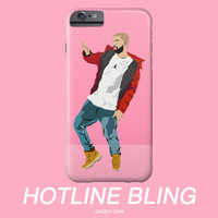 Drake Hotline Bling Dance Illustration IPhone / Galaxy Phone Case