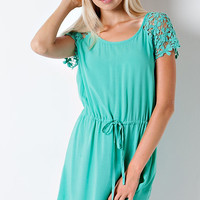 Lovely Lady Dress - Jade