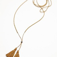 Nusantara Womens Anu Tassel Necklace