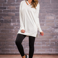 Piece Of Pretty Tunic, White