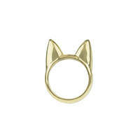 Gold Cat Ears Ring, People StyleWatch February 2015
