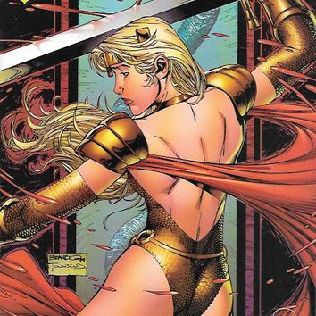 Lady Pendragon  # # 2d Image Comics  Dynamic Forces Gold Foil Edition