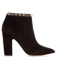 Rockstud suede ankle boots | Valentino | MATCHESFASHION.COM US