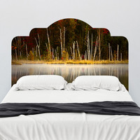 Paul Moore's Red Jack Lake Headboard wall decal