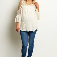 Blue-Stretch-Maternity-Skinny-Jeans