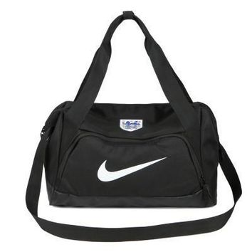Nike white hook Travel Duffel Bag Weekender Extra Large Tote Satchel Handbag H-A-MPSJBSC
