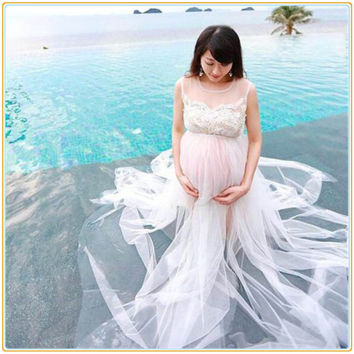 Shop Maternity Gown For Photo Shoot on Wanelo