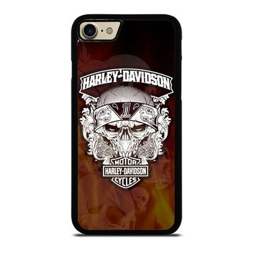 HARLEY DAVIDSON FLAME LOGO iPhone 7 Case Cover