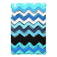 ocean chevron cover for the iPad mini from Zazzle.com