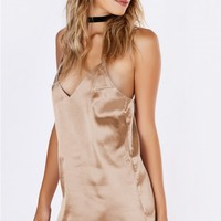 Million Dollar Club Slip Dress