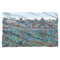 Where's Waldo See Me Fleece Blanket
