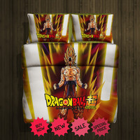 Dragon Ball Super Fleece Blanket Large & 2 Pillow case #85193655,85193660(2) - Home Deco On Line