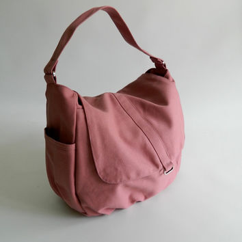 SALE - 10% OFF - Daniel in Rose pink // Cyber Monday Etsy // Shoulder bag / Messenger / tote / Diaper bag / Handbag / Women