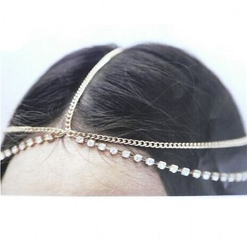 Hair Head Chain Band