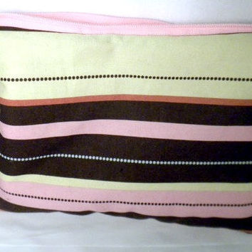 Kindle Fire Case Nook sleeve cover striped by redmorningstudios