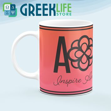 Alpha Omicron Pi Coffee Mug 11 OZ