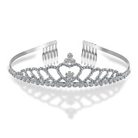 Bling Jewelry Echoes Of Love Tiara