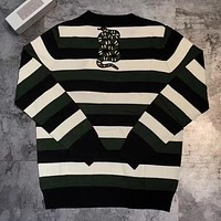 GUCCI Unisex Knit Embroidery Snake Top Sweater