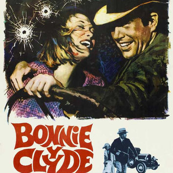 Bonnie and Clyde (Spanish) 11x17 Movie Poster (1967)