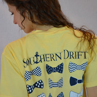 Southern Drift Bow Tie Tee ~ Butter