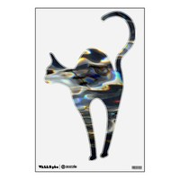 wall decal cat from Zazzle.com