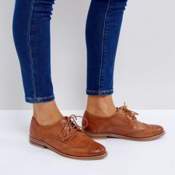 ASOS MOJITO Leather Brogues at asos.com