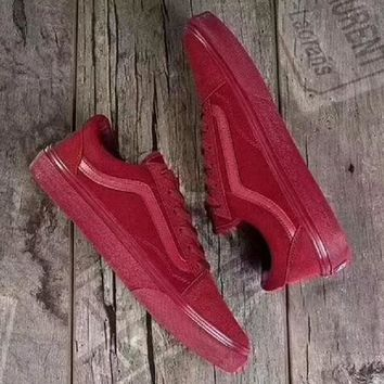 2018 Original Vans old skool Fashionable casual shoes