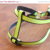 SALE Polka Dots  Dog Harness