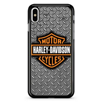 Harley Davidson Logo 7 iPhone X Case