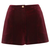 Velvet Shorts - Shorts  - Clothing