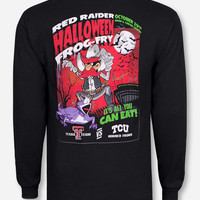 Texas Tech Wreck the Metroplex on Black Long Sleeve Shirt