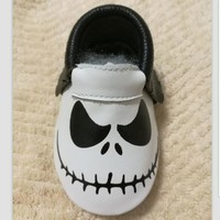 Baby Jack Boy Leather Moccassins