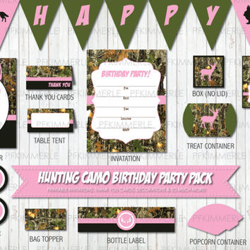 Shop pink camo decorations on wanelo for Pink camo decorations
