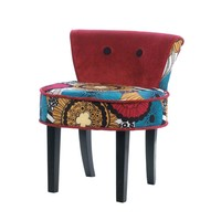 Vibrantly Colored Chic Burgeon Chair