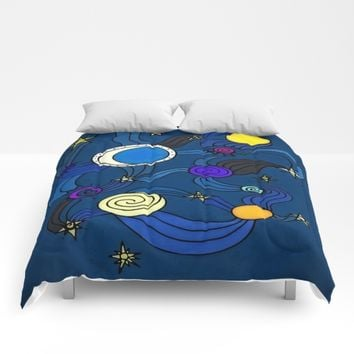 The Celestial Environment Comforters by DuckyB