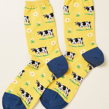 What's Bovine Is Yours Socks