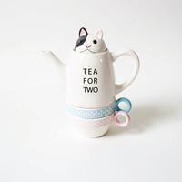 Tea For Two French Bulldog - Gift & Home