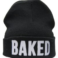 Black Beanie for Smokers