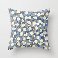 Winter Celebration Throw Pillow by Kat Mun