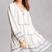 Velzera Abstract Print Tunic