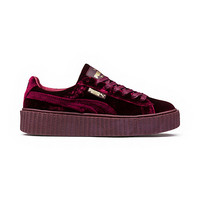 PUMA BY RIHANNA WOMEN'S VELVET CREEPER, buy it @ www.puma.com