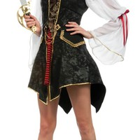 Deluxe Cutthroat's Wench Sexy Costume - Pirate Costumes