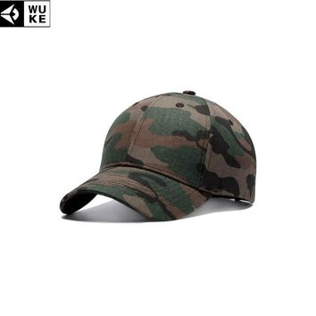 Trendy Winter Jacket WUKE Army Camouflage Caps Men's Snapback Hats Gorras Militares Hombre Camouflage Caps Women Adjustable Baseball Caps Gorras AT_92_12