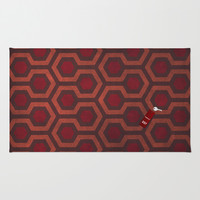 the Shining Rug & Room 237 Rug by Justin Cybulski | Society6