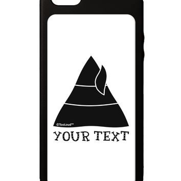 Personalized Matching Elf Family Design - Your Text iPhone 5C Grip Case  by TooLoud