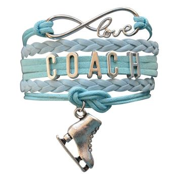 Figure Skating Coach Bracelet